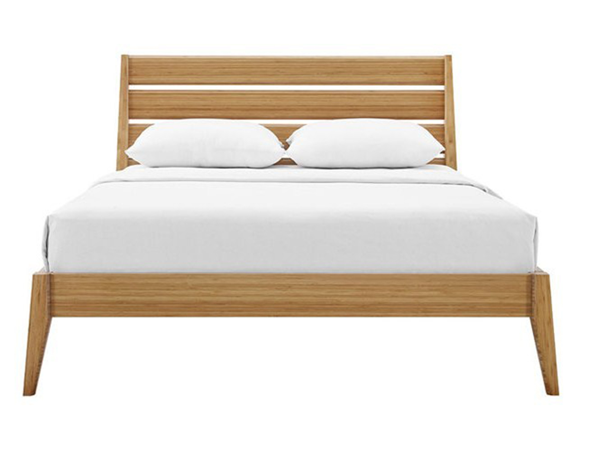 Picture of: Sienna Carmelized Bamboo Platform Bed By Greenington Scan Design Furniture