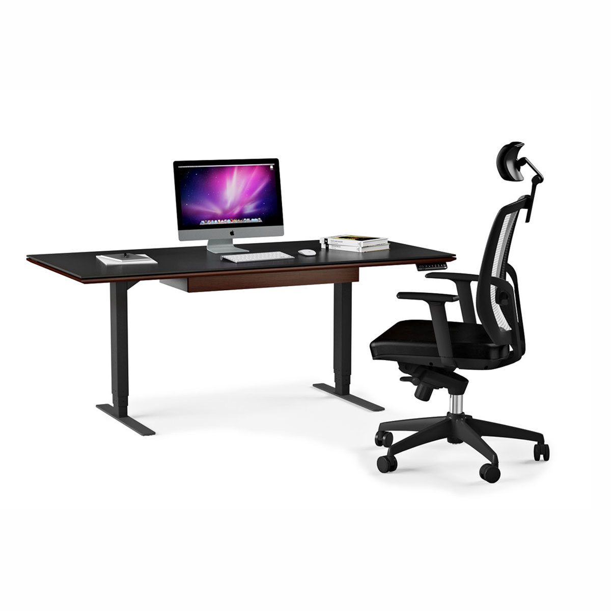 SEQUEL 40 Height Adjustable Lift Desk by BDI