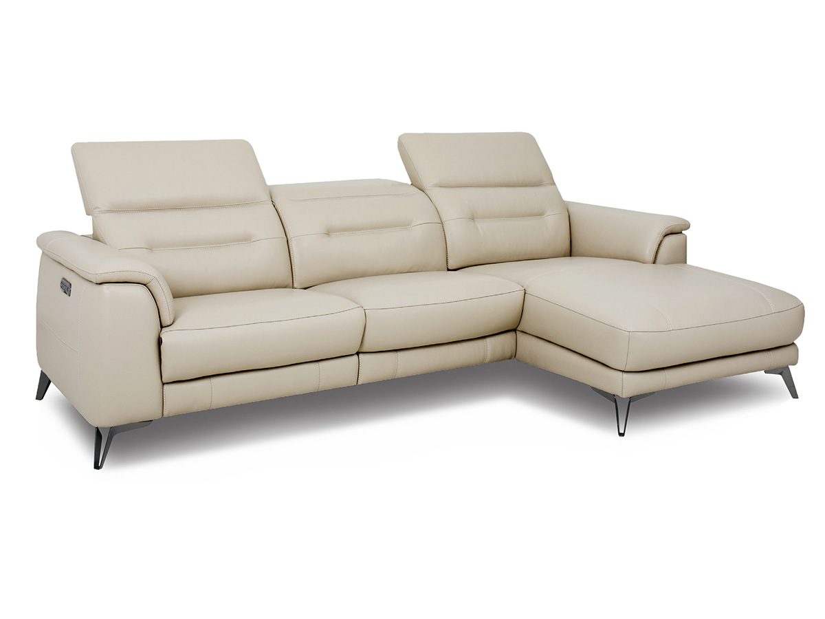 Rs11233 Reclining Sofa Chaise By Htl
