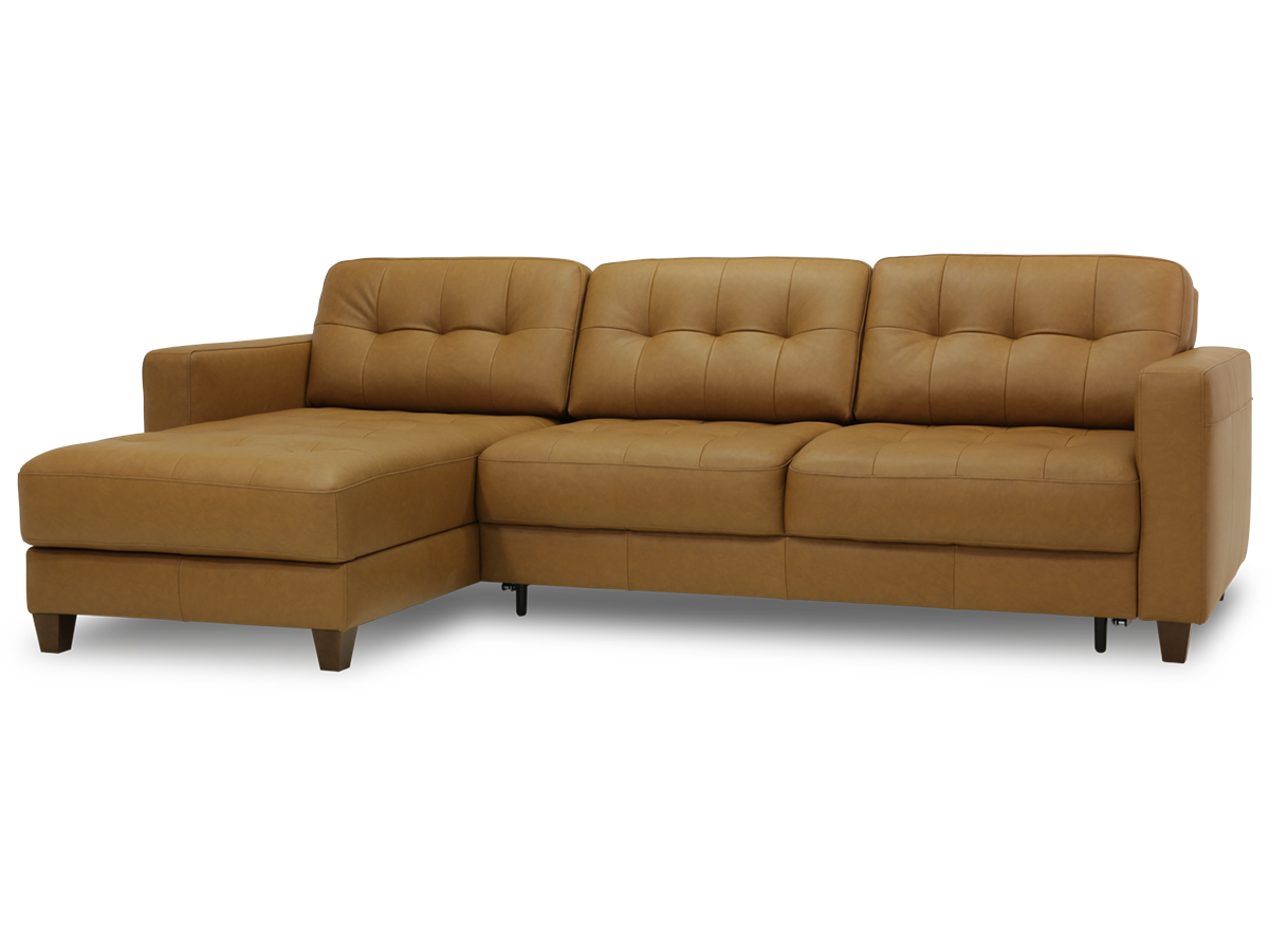 Noah Loveseat Chaise Sleeper Full Size Xl Leather By Luonto Scan Design Furniture