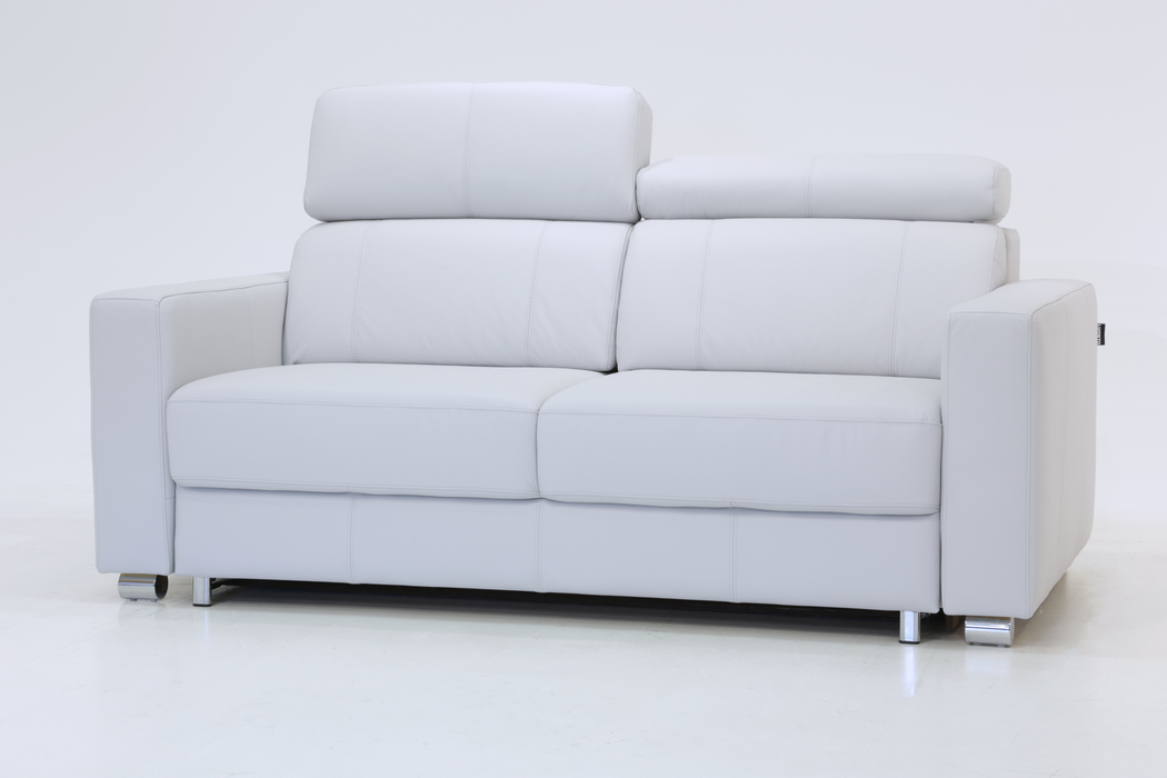 Picture of: West Sofa Sleeper Leather Motorized Queen Size By Luonto Scan Design Furniture